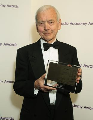John Humphrys with a Radio Journalism of the Year Award, at the Sony Radio Academy Awards, (Yui Mok/PA)