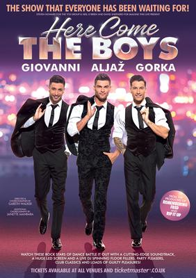 Here Come The Boys poster (Here Come The Boys)