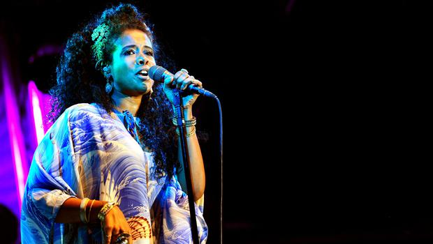 Kelis pictured while performing in 2014 (Ian West/PA)
