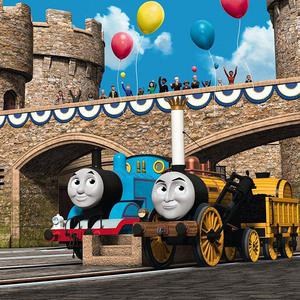 Thomas The Tank Engine features in the animated movie adventure King Of The Railway