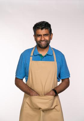 Makbul is a self-taught baker whose strengths lie in pastry (C4/Love Productions/Mark Bourdillon)