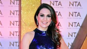 Laura Tobin during the National Television Awards (Ian West/PA)