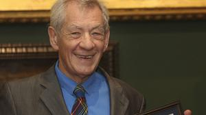 Sir Ian McKellen receives the Freedom of the City of London