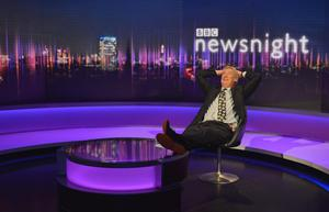 Jeremy Paxman, who bowed out of Newsnight after 25 years (Jeff Overs/BBC)