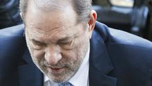 A group of Harvey Weinstein's accusers have warned the fallen film mogul his legal woes are not over and they intend to pursue him to court in Los Angeles (John Minchillo/AP)