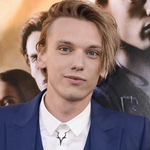 Jamie Campbell Bower says he and Lily Collins are still close