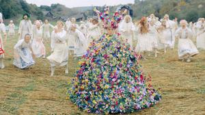 The film academy has won an auction for Florence Pugh's May Queen dress from horror film Midsommar (A24/PA)