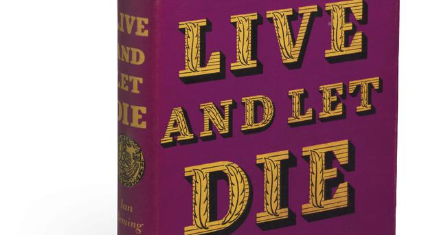 Ian Fleming's Live And Let Die (Christie's)