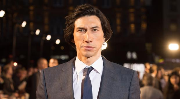 Hollywood actor Adam Driver has been accused of walking out of an interview over a clip from one of his latest films (David Parry/PA)