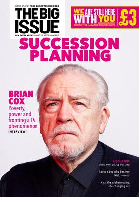 Brian Cox in The Big Issue (The Big Issue)