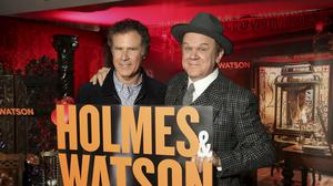 Will Ferrell and John C Reilly star together in Holmes and Watson (Willy Sanjuan/Invision/AP)