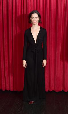 Rebecca Hall distanced herself from Woody Allen (Ian West/PA)