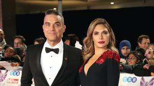 Robbie Williams and Ayda Field (Steve Parsons/PA)