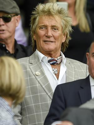 Sir Rod Stewart pulled out at the last minute (Ian Rutherford/PA)