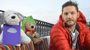 Tom Hardy reading a previous CBeebies Bedtime Story (BBC/Press Association Images)