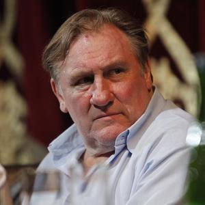 French actor Gerard Depardieu announced his new role at a press conference in Chechnya