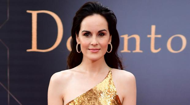 Michelle Dockery has revealed she enjoyed using her own Essex accent in her latest film after years of playing well-spoken Lady Mary in Downton Abbey (Ian West/PA)