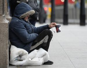 The Vagrancy Act 1824 makes it an offence to sleep rough or beg.