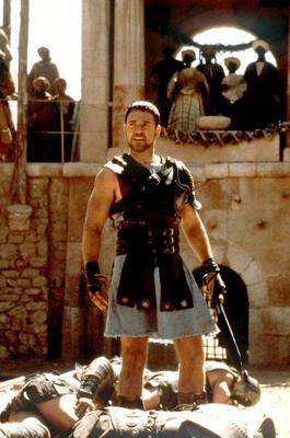 Russell Crowe won the best actor Oscar for his starring role in Gladiator, but he was not always certain it would be a success (Universal/PA)