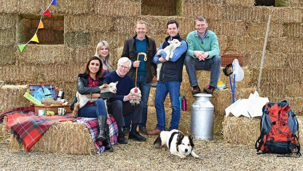 The Countryfile presenters have been granted permission to explore the grounds surrounding the royal estates of Windsor, Balmoral and Sandringham (Caroline Lott/BBC)