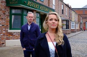 The couple had a turbulent relationship (ITV)