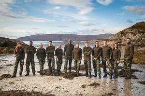 The contestants from this year's Celebrity SAS: Who Dares Wins (Channel 4/PA)