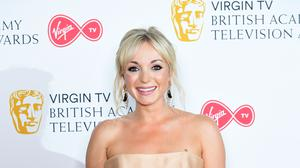Call The Midwife star Helen George admitted she finds it difficult to watch herself on television (Ian West/PA)