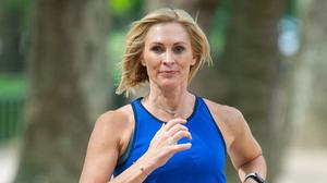 TV and radio presenter Jenni Falconer has been unveiled as the voice and face of a popular running app designed to get people active (Dominic Lipinski/PA Wire)