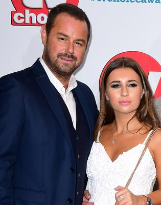 Danny Dyer and his daughter, former Love Island contestant Dani (Ian West/PA)