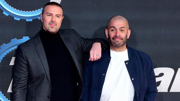 Paddy McGuinness (left) and Chris Harris (Ian West/PA)