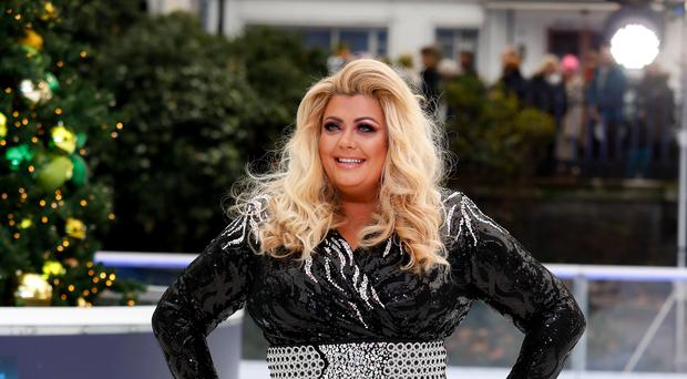 Gemma Collins during the press launch for the upcoming series of Dancing On Ice at the Natural History Museum Ice Rink in London. Picture date: Tuesday December 18, 2018. (David Parry/PA Wire)