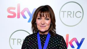 Lorraine Kelly said her dog is a stress-buster(Ian West/PA)