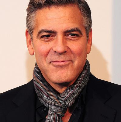 George Clooney has been promoting his new film Monuments Men in the UK