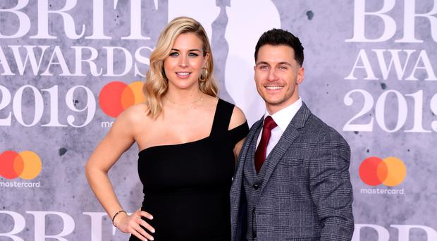 Gemma Atkinson and Gorka Marquez (Ian West/PA)