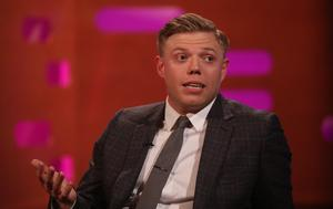 Host Rob Beckett (Isabel Infantes/PA)