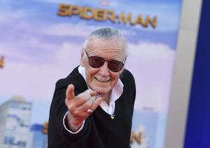 Stan Lee has died age 95 (Jordan Strauss/Invision/AP)