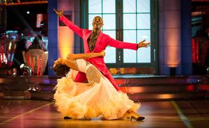 Amy Dowden and Danny John-Jules on Strictly Come Dancing (Guy Levy/BBC/PA)