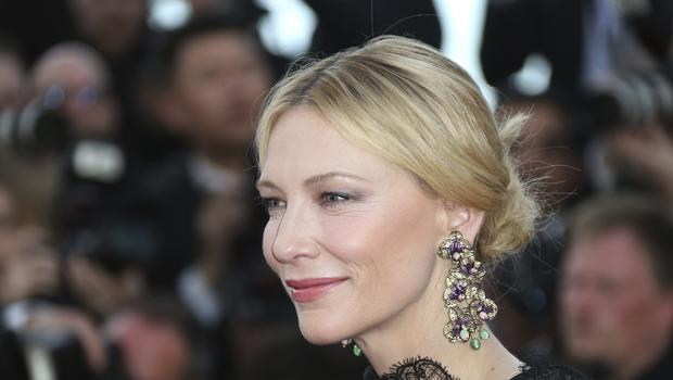 Cate Blanchett opened the Cannes Film Festival, the first time the event has been held since the Harvey Weinstein scandal broke (Joel C Ryan/Invision/AP)