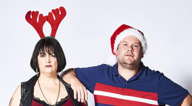 The Gavin and Stacey Christmas special ended on a cliffhanger (Tom Jackson/BBC/PA)