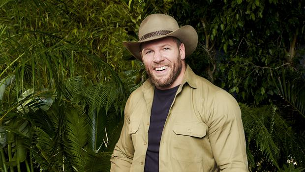 James Haskell on I'm A Celebrity… Get Me Out Of Here! (ITV)