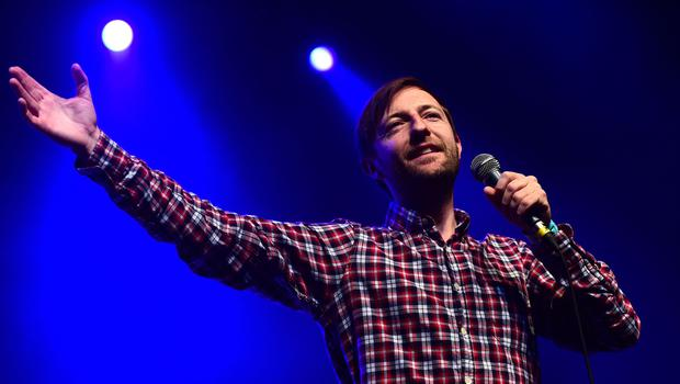 Comedian Andrew Maxwell (Ian West/PA)