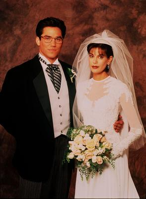 Dean Cain and Teri Hatcher in Lois and Clark (BBC)