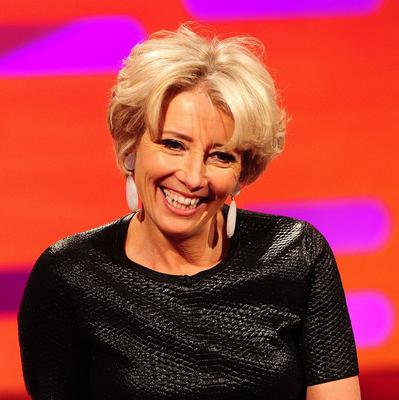 Emma Thompson had to have her hair permed for Saving Mr Banks