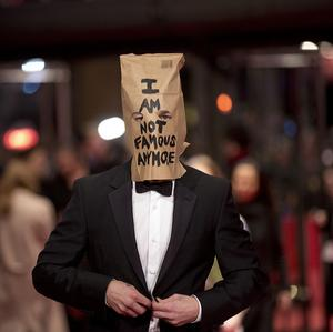 Shia LaBeouf first wore the bag to the Nymphomaniac premiere