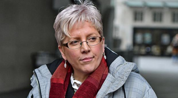 Carrie Gracie hailed 'courageous' Samira Ahmed over her BBC equal pay battle (Dominic Lipinski/PA)