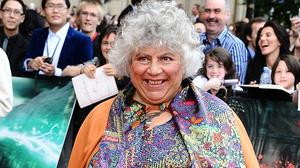 Miriam Margolyes starred as Professor Sprout in the Harry Potter movies