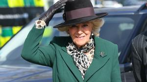The Duchess of Cornwall will play a ship's captain (Jacob King/PA)