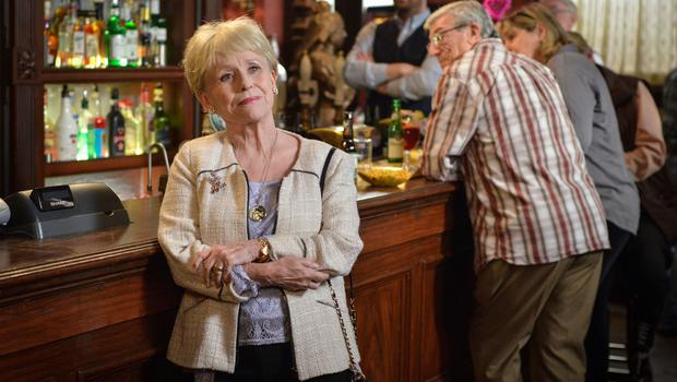 Barbara Windsor has enjoyed a stellar career in showbusiness but is perhaps best known for her role as Peggy Mitchell in Eastenders (Kieron McCarron/BBC/PA)