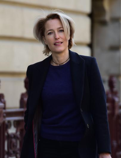Gillian Anderson is rumoured to be playing the Iron Lady (David Mirzoeff/PA)