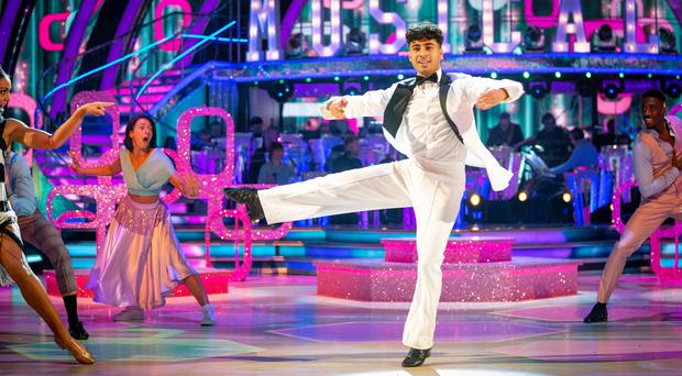 Karim Zeroual is a Strictly finalist (Guy Levy/BBC)